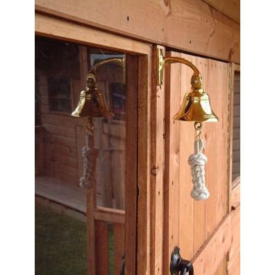 Langley Large Ships Bell with Lanyard from our children's Climbing Frames range