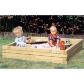 Houtland Sandbox for Clubhouse from our children's Climbing Frames,Climbing Frame Accessories,Sandpits,Sandpits for climbing frames range