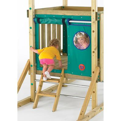 Kingswood Short ladder (TP) from our children's Climbing Frame Accessories range