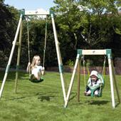 TP Forest Growable Acorn Swing Frame from our children's Garden Swings range