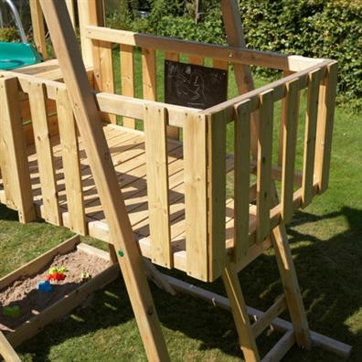 TP Kingswood2 Tower with Crazy Wavy Slide | Climbing Frames | Buy ...