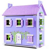 Le Toy Van Lavender House Dolls House from our children's Dolls Houses range