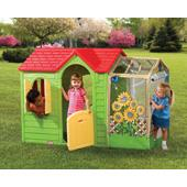 Garden Cottage in Evergreen (Little Tikes) from our children's Playhouses range