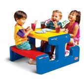 Picnic Table in Primary (Little Tikes) from our children's Garden Games range