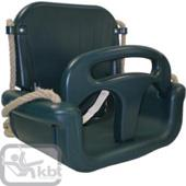 Langley growable babyseat (green) from our children's Garden Swings range