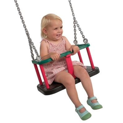 Langley Rubber Toddler Seat with Chains from our children's Garden Swings range