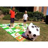 Giant Snakes & Ladders from our children's Garden Games range