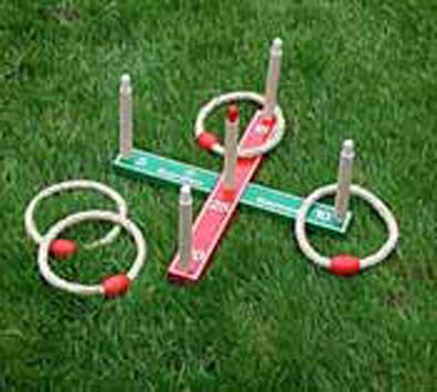Quoits from our children's Garden Games range
