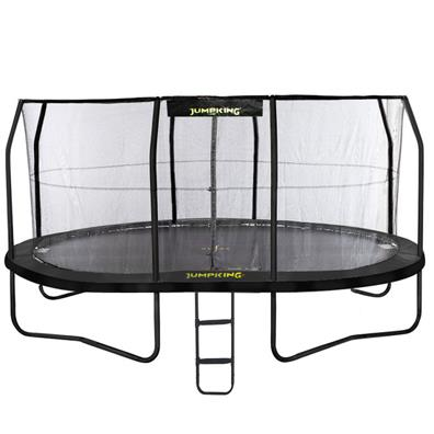 JumpKing Oval JumpPOD Trampoline Package (14ft x 17ft) from our children's Trampolines range