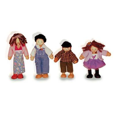 Family of 4 Dolls Set from our children's Clearance range