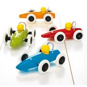 Brio Race Car - Orange from our children's Wooden Indoor Toys range