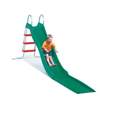 CrazyWavy slide with stepset package in GREEN (TP) from our children's Childrens Slides range