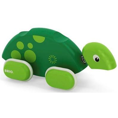 BRIO Push Along Turtle from our children's Christening Gift ideas range