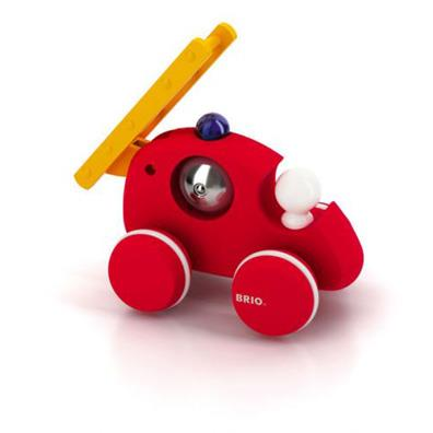 BRIO Push Along Fire Truck from our children's Gifts range