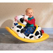 Soft Rocking Cow (Little Tikes) from our children's Ride-on Rockers range