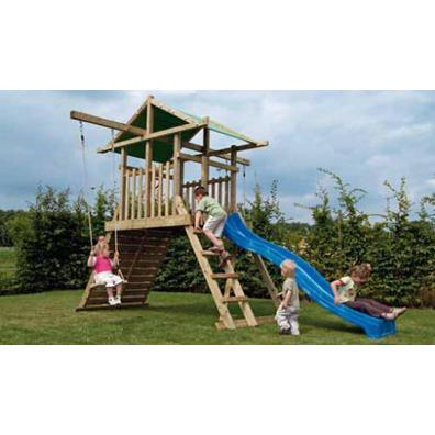 Houtland Space Shuttle with slide from our children's Climbing Frames range
