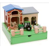 My Mini Farm (Le Toy Van) from our children's Wooden Indoor Toys range