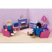 Sugar Plum Living Room for Dolls Houses from our children's Dolls Houses range