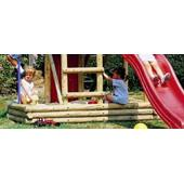 Houtland Sandbox for Multitower from our children's Climbing Frames range