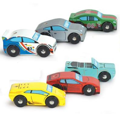 Monte Carlo Sports Cars (Le Toy Van) from our children's Indoor Toys range