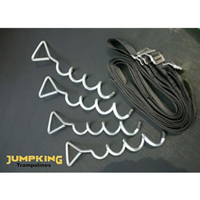 Jumpking Trampoline Tie Down Kit from our children's Trampolines range