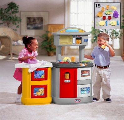 Little Tikes Double Up Kitchen & Laundry Centre from our children's Clearance range