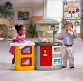 Little Tikes Double Up Kitchen & Laundry Centre from our children's Roleplay Toys range