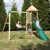 TP Castlewood Double Swing Arm from our children's Climbing Frames,Climbing Frame Accessories range