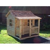 The Langley Play House (6ft x 6ft including veranda) from our children's Wooden Playhouses range
