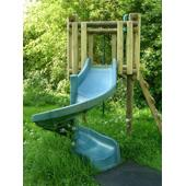 Spiral Slide from our children's Slides for climbing frames range