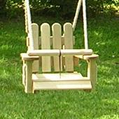Wooden Toddler Seat from our children's Garden Swings range