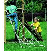 Houtland Playtower with slide and double swing from our children's Climbing Frames with Swings,Wooden Climbing Frames,Swings with Climbing Frames range