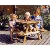 Large Picnic Table in Primary colours (Little Tikes) from our children's Garden Games,Garden Furniture,Indoor Toys,Childrens Furniture range