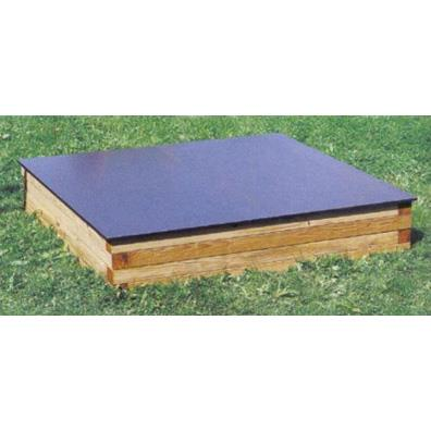 Houtland Cover for Sandbox in square timbers from our children's Sandpits range