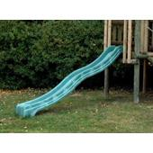 Green polymer slide (10') from our children's Slides for climbing frames range