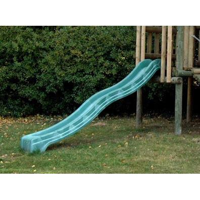 Green polymer slide (10') from our children's Childrens Slides range