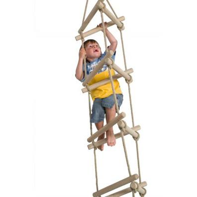 Langley Three-sided rope ladder from our children's Climbing Frames range