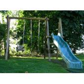Langley® Ladder, Platform and 3m Slide Attachment from our children's Garden Swings range