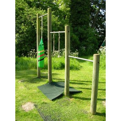 Langley Chin Bars from our children's Climbing Frames range