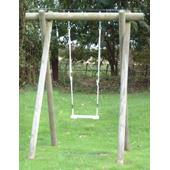 Langley Single Swing Frame from our children's Garden Swings range