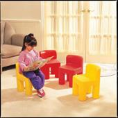 Rainbow Chair - Red from our children's Garden Games range