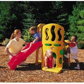 Hide n Slide Climber (Little Tikes) from our children's Stand alone slide sets range