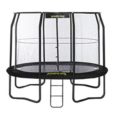 Jumpking Oval JumpPOD Trampoline package (8ft x 11.5ft) from our children's Special Offers range