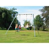 Double Giant Garden Swing Frame from our children's Garden Swings range