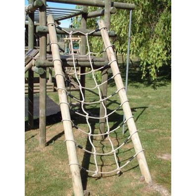 Langley net and poles from our children's Climbing Frames range