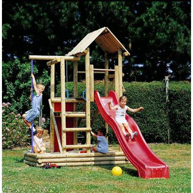 Houtland Multitower with slide from our children's Climbing Frames range