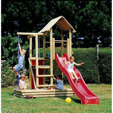 Houtland Multitower with slide | Climbing Frames | Buy online from ...