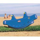 Whale Teeter Totter in blue (Little Tikes) from our children's Ride-on Rockers range
