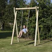 Langley Double Swing Frame from our children's Garden Swings,Wooden Garden Swing Frames,Childrens Garden Swings range