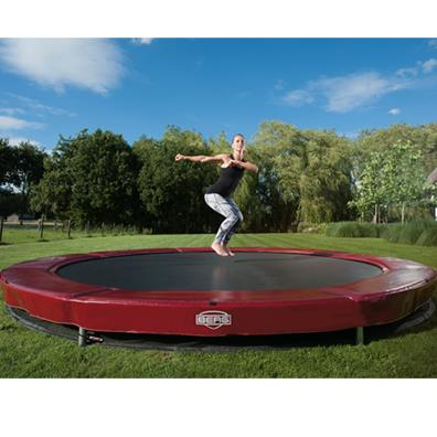 Berg InGround Elite+ 380 Trampoline (red) from our children's Trampolines range
